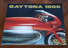 Moto Guzzi Daytona 1000 brochure Prospekt, 1992