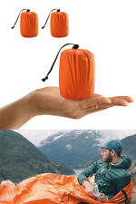 Emergency Sleeping Bag Thermal Waterproof Reusable Survival Camping Travel Bag
