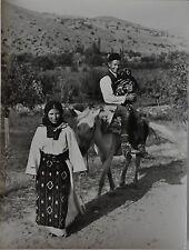 Paul Wolff & Tritschler Vintage Gelatinesilberabzug Süd-Serbien Skoplje Familie