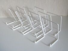 "10 Dual Purpose Display Stands holds 10"" plate or 8"" bowl.(Medium White)"