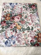 Ralph Lauren Allison Full Flat Sheet Floral French Country Cottage Made Usa Bed