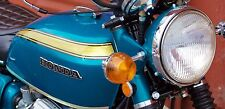 CANDY BLUE GREEN Custom Mix Paint for Honda Motorcyles- QUART -CB750 K0 CT70H K0