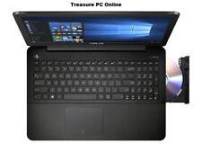 """Asus F555YI-WO042T Laptop AMD Q-Core A8 7410 8GB RAM 512GB SSD DVD R5 M320 15.6"""""""