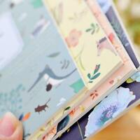 Notepad Notebook Diary Note Memo Planner School Stationery Supplies T7X3