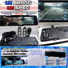 """Cámara de montaje en espejo retrovisor en auto Cctv Video Grabadora De Viaje HD 4.3"""" de conducción"""
