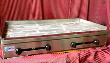 """New 48"""" Griddle Flat Top Grill Gas Stratus Smg48 #1225 Commercial Restaurant Nsf"""