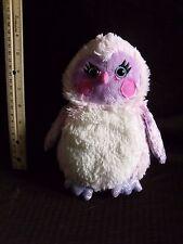 Webkinz whoo la la pink sparkle sparkly princess owl no tag