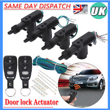 Remote 4 Door Power Central Lock System Auto Locking Security Keyless Entry Kits