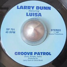 PRIVATE BOOGIE 45 LARRY DUNN feat LUISA Groove patrol SOURCE PRODUCTIONS LISTEN