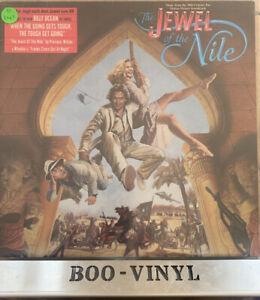 JEWEL OF THE NILE - Soundtrack - LP VINYL LP - Jive  Rare German Press Ex Con