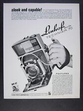 1968 Linhof Technika 70 Camera vintage print Ad