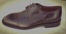 """NWT Brass Boot """"Coreno"""" Deerskin & Leather upper Brown US 10.5 Made In Italy"""