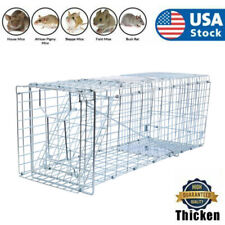 """26"""" Rat Trap Cage Small Live Animal Pest Rodent Mouse Control Catch Hunting Trap"""