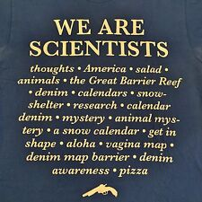 We Are Scientists Vintage American Apparel T-Shirt M