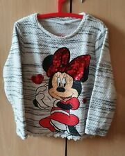 MINNIE MOUSE GIRLS JUMPER 6-7YRS
