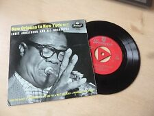 LOUIS ARMSTRONG - NEW ORLEANS TO NEW YORK - PART 1- EP - FULLY TESTED - SUPERB