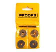 "4x 30mm Diamond Cutting Disc Set with 3.20mm 1/8"" Arbor Suit Dremel Proxon X1208"