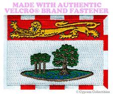 PRINCE EDWARD ISLAND FLAG PATCH CANADA new CANADIAN w/ VELCRO® Brand Fastener