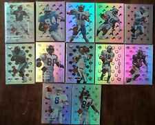 Peyton Manning 1998 Collector's Edge Odyssey Authentic Football set Moss Aikman