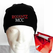 PERSONALISED Beanie Fun Biker hats (CLUB or OWN SHORT MESSAGE) Gifts for bikers
