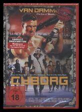 DVD CYBORG - FSK 18 - UNCUT - JEAN-CLAUDE VAN DAMME - ACTION CULT *** NEU ***