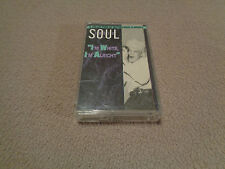 Soul Shots Vol. 6 Blue Eyed Soul - Rhino Cassette - 1988 - Great Compilation EX