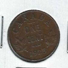 Canada One Cent 1925 XF/AU