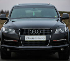 Eyebrows for AUDI Q7 2005-2008  headlight eyelids lids ABS Plastic