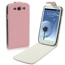 Samsung Galaxy S3 i9300 Kunst-Leder Flip Case Etui Tasche rosa