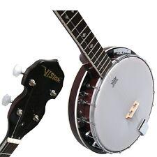 Banjo BJ5-5-saitiges, Mensur 65,5cm, Remo Weatherking-Fell,Randeinlagen,by MSA!n