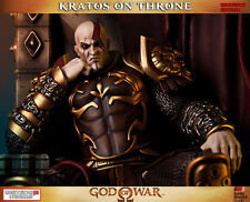 GAMING HEADS GOD OF WAR™: KRATOS ON THRONE EXCLUSIVE STATUE NT SIDESHOW
