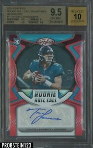 2021 Certified Mirror Red Rookie Roll Call Trevor Lawrence RC AUTO /15 BGS 9.5