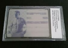#1/1 Rich Franklin National Pride Printing Plate 2010 Leaf MMA UFC Non Auto