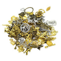50g Many Style Mixed Alloy Charms Pendants DIY Jewelry Making Findings