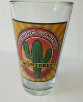 Monterey Brewing Company Pint Beer Glass