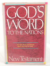 God's Word To the Nations [HC/DJ 1990] Literal Translation of  the New Testament