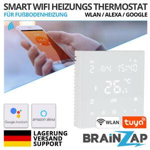 Tuya WiFi SMART Thermostat WLAN Fußboden Heizung Alexa Google App Touchscreen