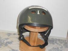 Mosa Extreme Sports / PCOTPC OD / Army Green Snowboard Helmet w/ Stickers