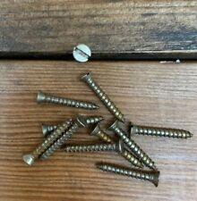"""Wood Screws Flat Head Slotted Steel #6 X 3//8"""" WS638"""
