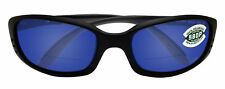 Costa Del Mar brine matte black frame blue c-mate 2.00 mirror polarized lens