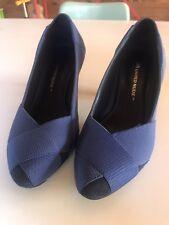 UNITED NUDE Helix Pump elastic leather - Blue - Size 38