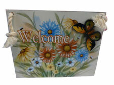 Floral Decorative Hanging Signs