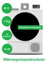 Wärmepumpentrockner NEU EEK:A++ Trockner Kondensationstrockner 7kg Fassung 65dB