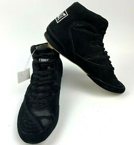 Everlast 8000 Low Top E Boxing MMA Wrestling Shoes Black Mens Size 7