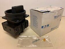 *NEW* Eaton Hauptschalter P3-63/EA/SVB-SW/N Moeller Klockner Main Switch 012771