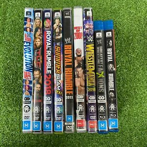 WWE - Various DVD / BLURAY titles available (Region 4 and B)