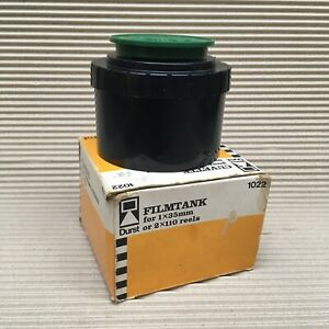 Durst Developing Tank #1022 (Inc 1x 35mm Film Spools) - Clean & Boxed