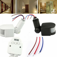 180°LED Outdoor Infrared PIR Motion Sensor Detector Wall Light Switch Automatic