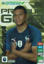 Panini Adrenalyn XL Road to UEFA Euro 2020 Premium Gold Kylian Mbappe France