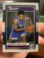2017-18 De'Aaron Fox Donruss The Rookies #5 Sacramento Kings